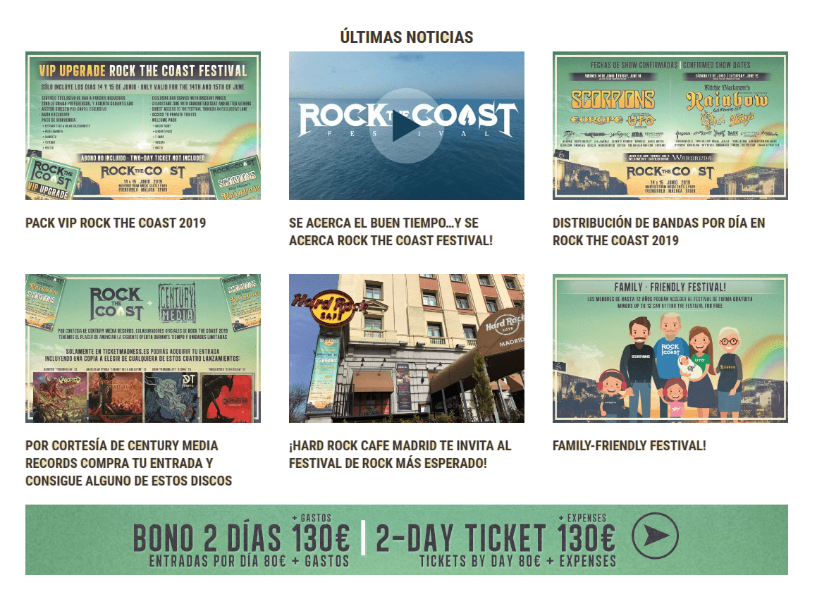 Rock the Festival Marketing